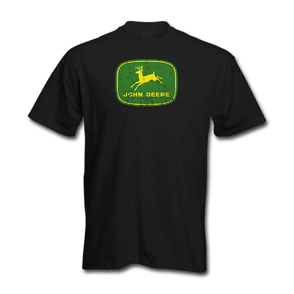 John Deere Worn Logo T-Shirt
