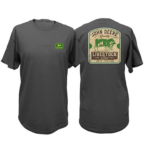 John Deere Livestock & Feed T-Shirt