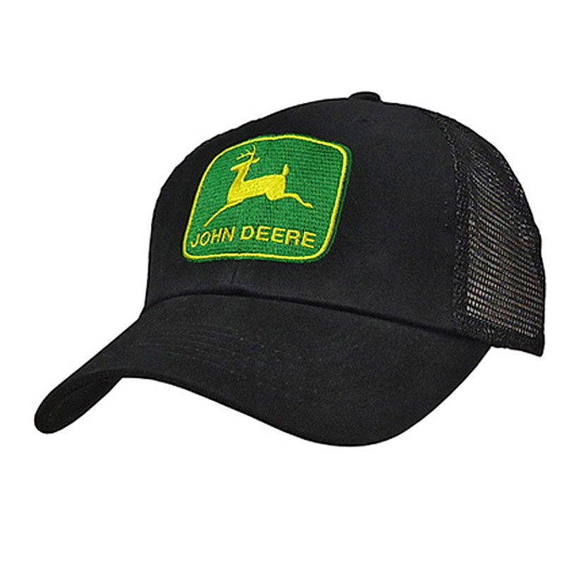 John Deere Embroidered Patch Mesh Cap
