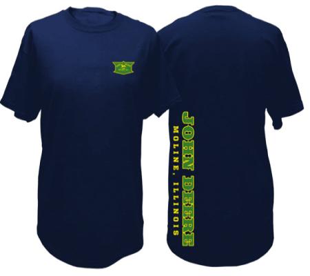John Deere Vintage Side Print T-Shirt