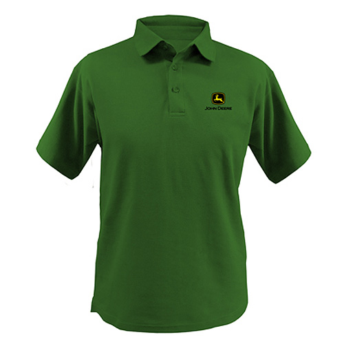 John Deere Poly Polo Shirt