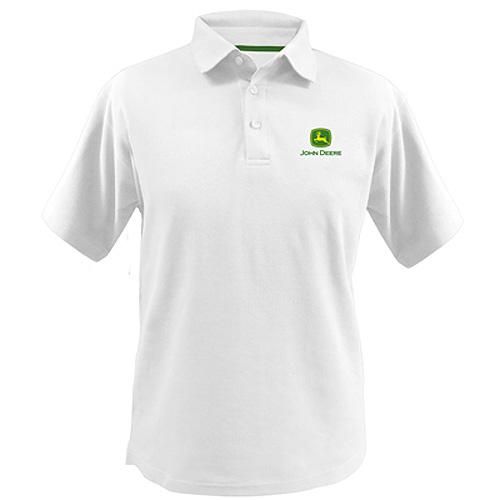 John Deere Poly Polo Shirt