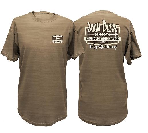 Men's John Deere Quality Farm Equipment T-Shirt