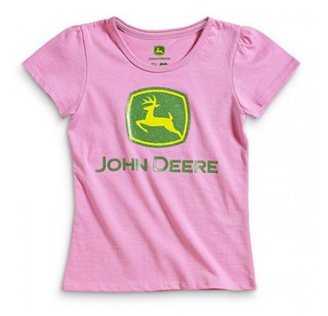 DAMAGED John Deere Logo T-Shirt