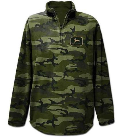 John Deere Zip Neck Sweatshirt