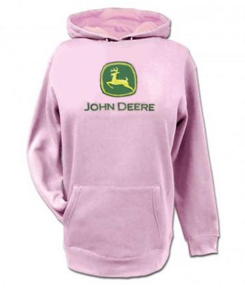 DAMAGED John Deere Infants and Toddlers Logo Hoodie