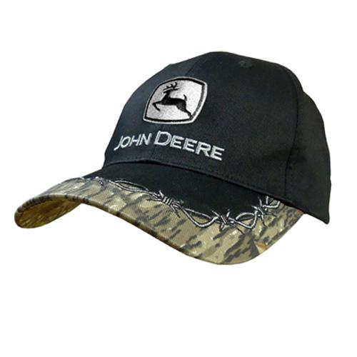 John Deere Barb Wire Baseball Cap