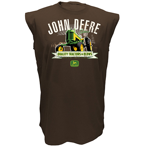 John Deere Quality Tractors & Plows Muscle Shirt