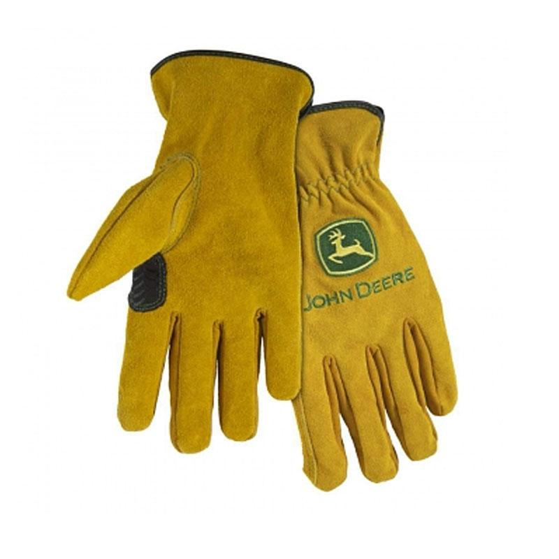 John Deere Split Cowhide Driver Glove