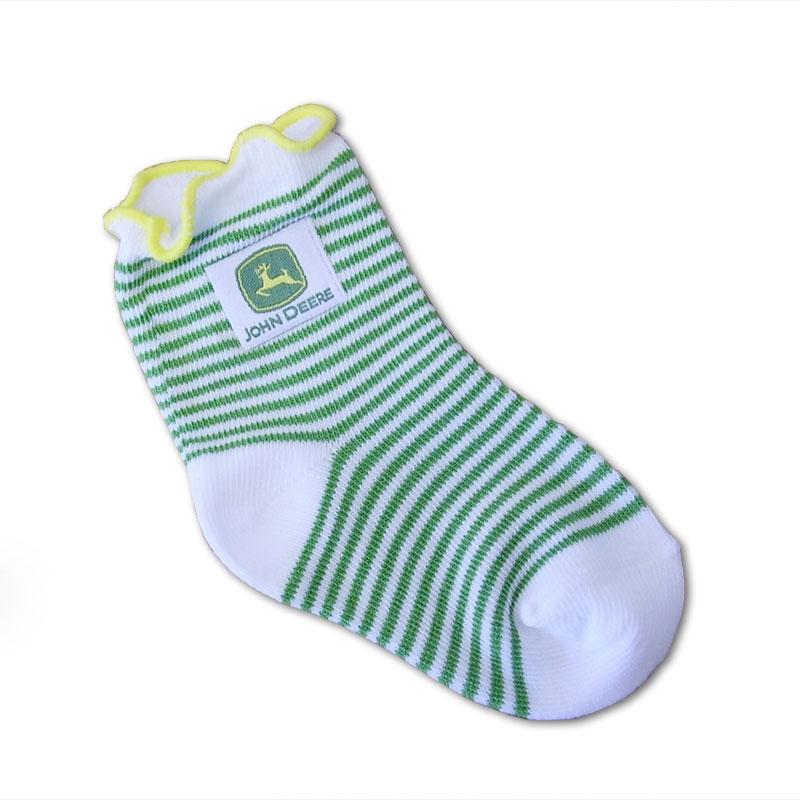 John Deere Lettuce Top Socks