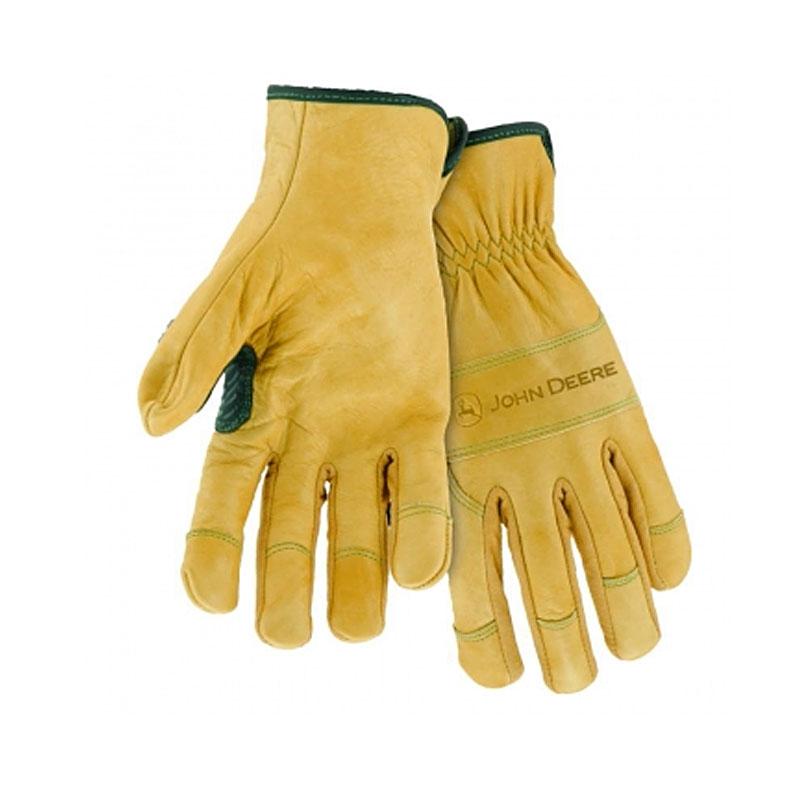 John Deere Grain Cowhide Driver Glove