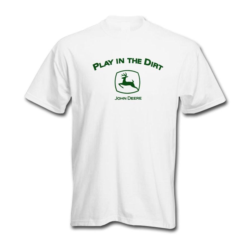 446d5893f61 John Deere Play In The Dirt T-Shirt