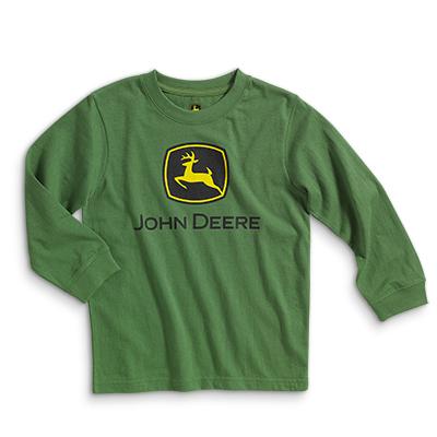 John Deere Logo Long Sleeve T-Shirt