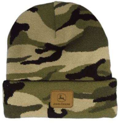 John Deere Rolled Winter Hat