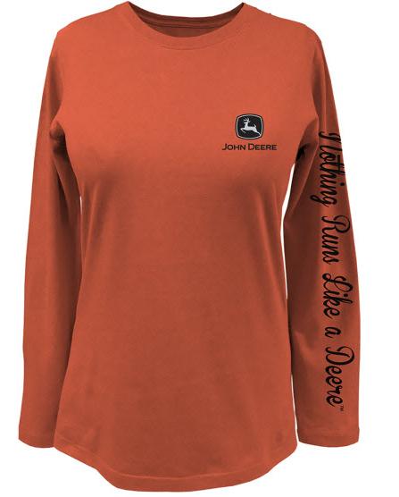 John Deere Nothing Runs Like A Deere Long Sleeve T-Shirt