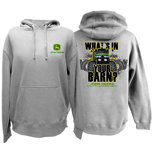John Deere Whats In Your Barn Hoodie