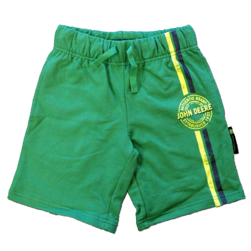 John Deere Striped Shorts