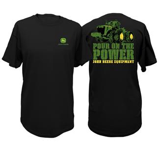 John Deere Pour On The Power T-Shirt