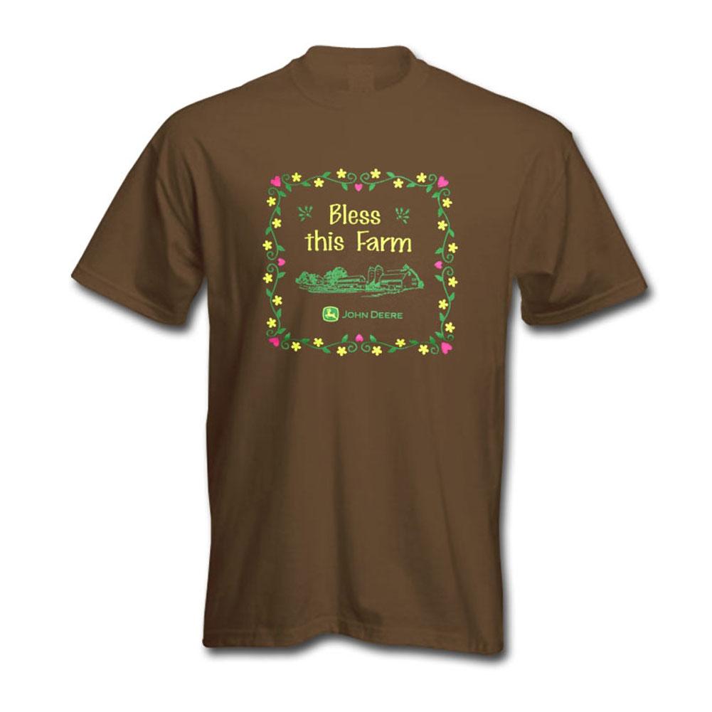 John Deere Bless This Farm T-Shirt