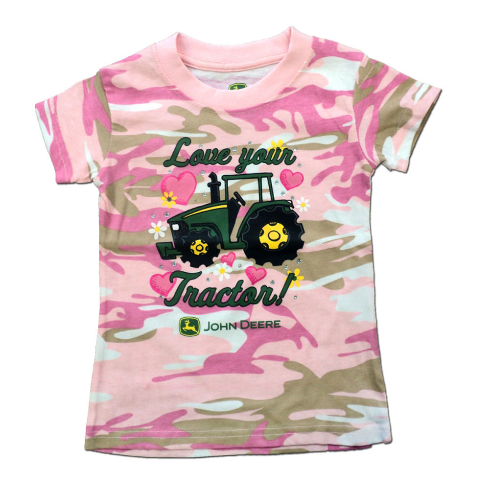 John Deere Love Your Tractor T-Shirt