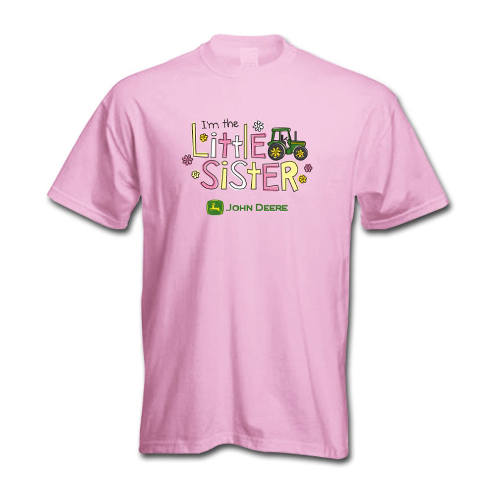 John Deere Little Sister T-Shirt
