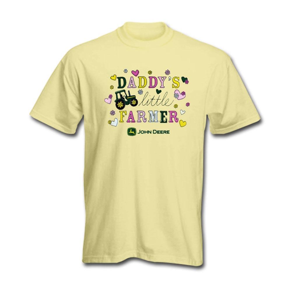 John Deere Daddys Little Farmer T-Shirt
