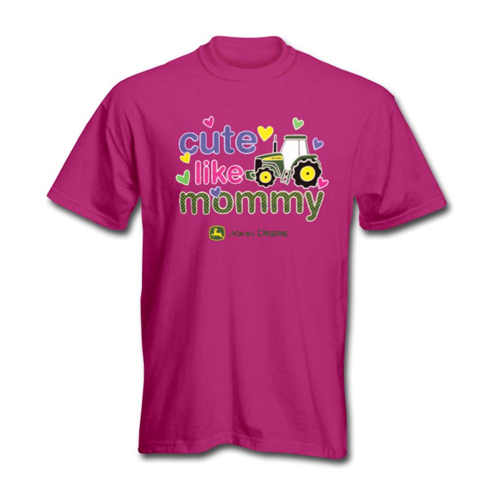 John Deere Cute Like Mommy T-Shirt