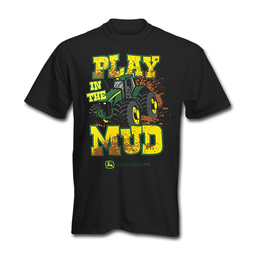 John Deere Play In The Mud T-Shirt